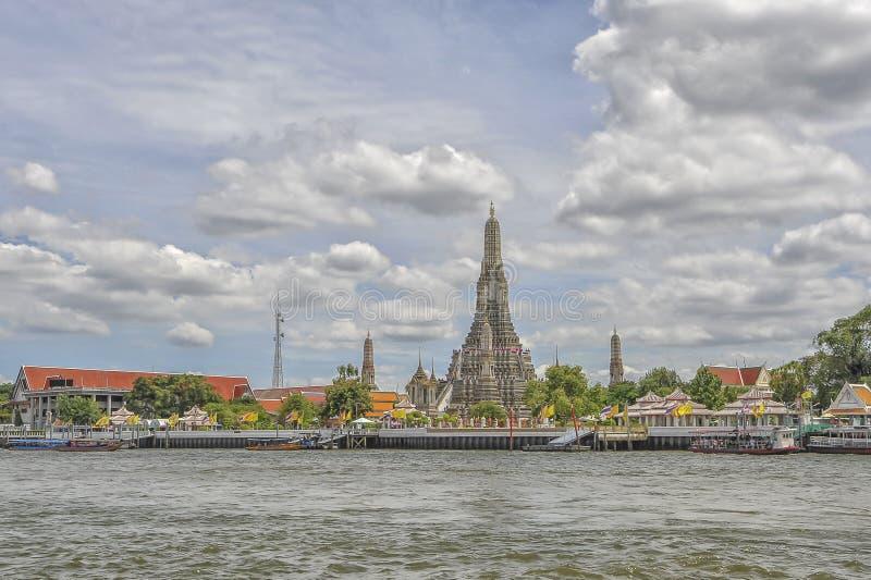 река Таиланд praya chao bangkok стоковые изображения rf
