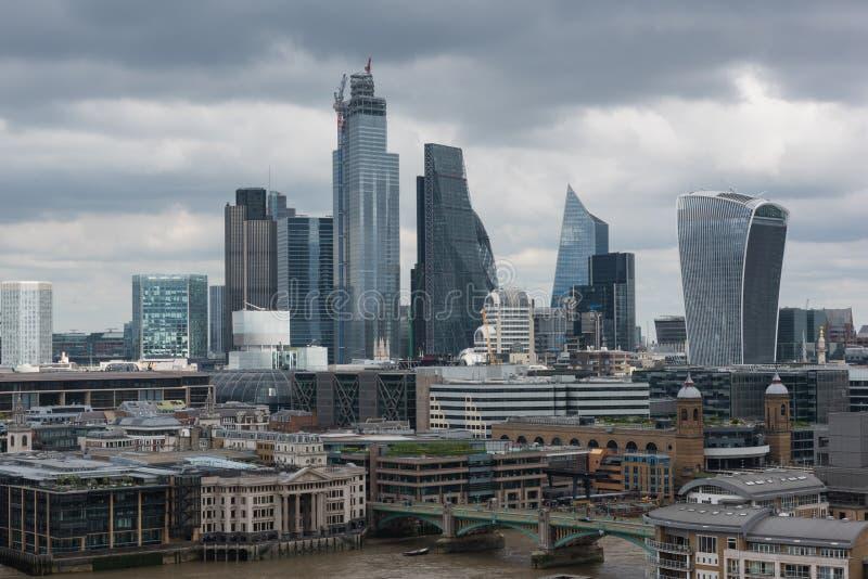 Река Темза Лондон стоковые изображения