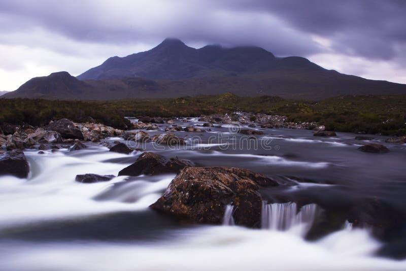 река холмов cullin стоковое изображение