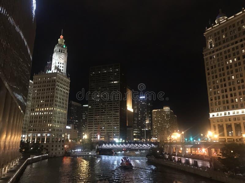 Река Чикаго стоковое изображение rf
