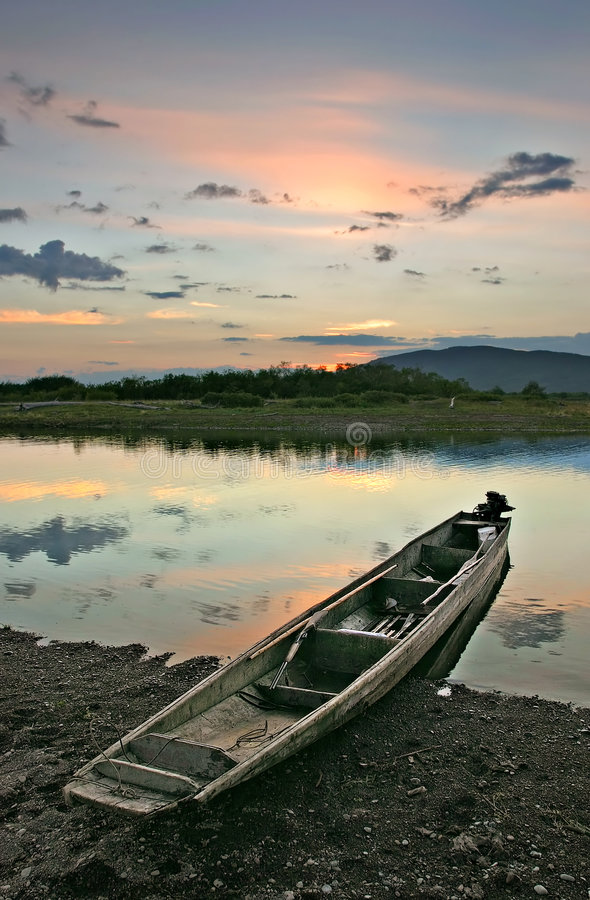 Река 2 Samarga стоковые фото
