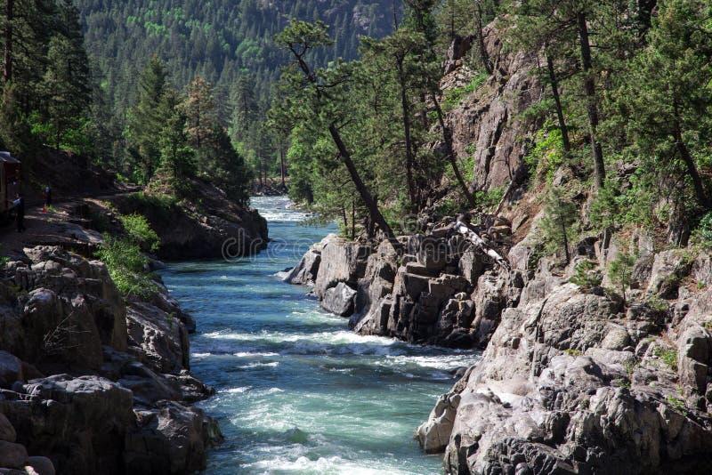 Река Animas стоковое фото rf