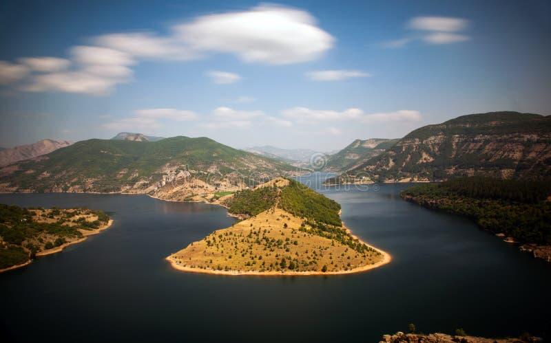 Река Arda стоковая фотография rf