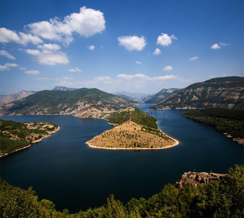 Река Arda стоковая фотография