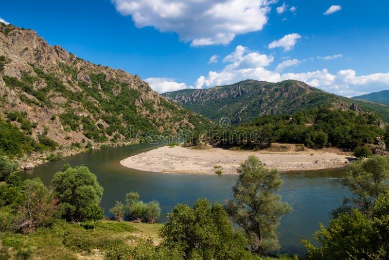 Река Arda стоковое изображение