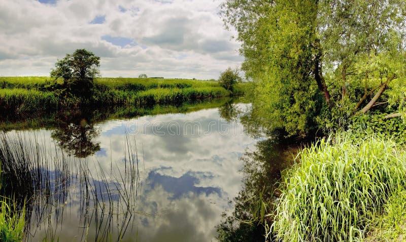 река avon стоковое изображение