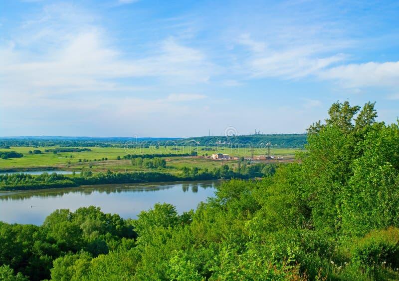 река belaya стоковое фото rf