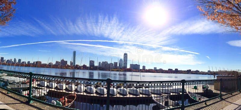 река boston charles стоковые фото
