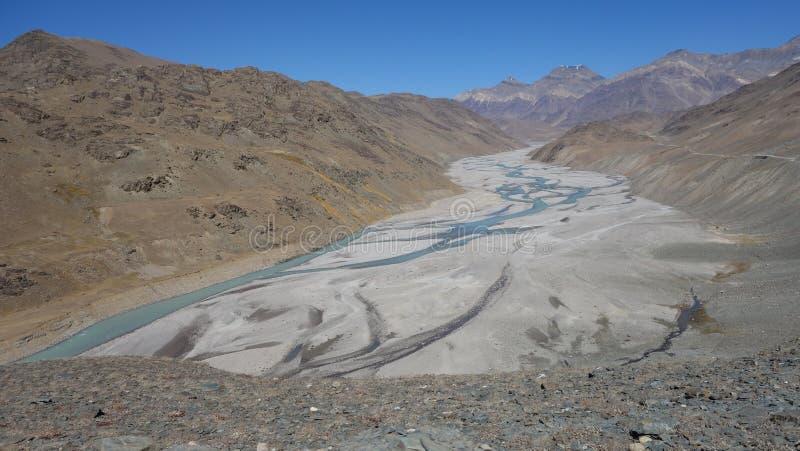 Река Chandra стоковое изображение