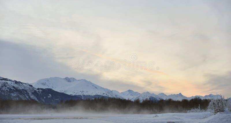 Река Chilkat. стоковые изображения