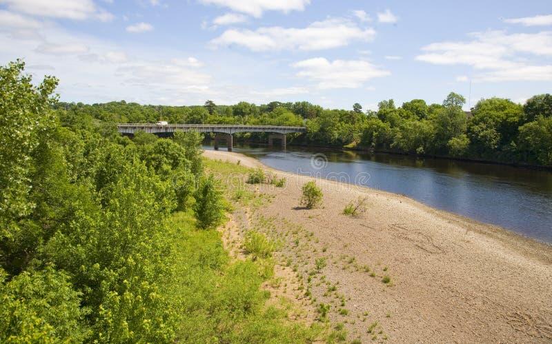 река chippewa стоковые изображения rf
