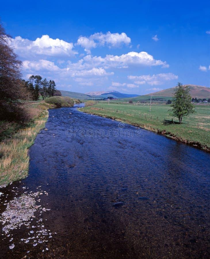 река clyde стоковая фотография rf