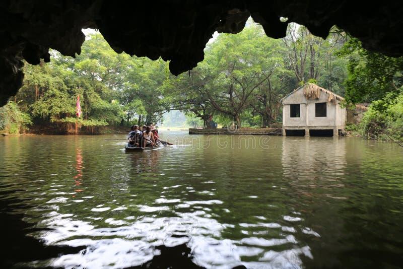 Река coc Tam стоковое изображение