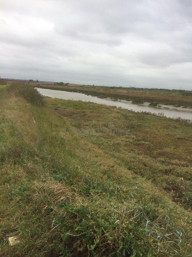 Река crouch2 стоковое изображение rf