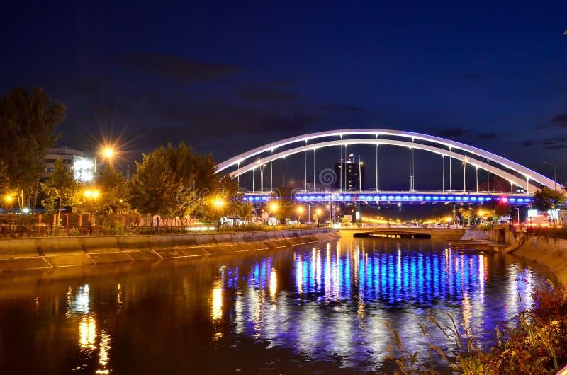 Река Dambovita стоковое фото
