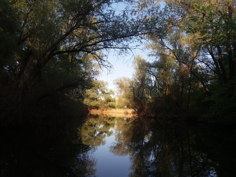 река Dnieper в мае 2017 Ukrain стоковое фото