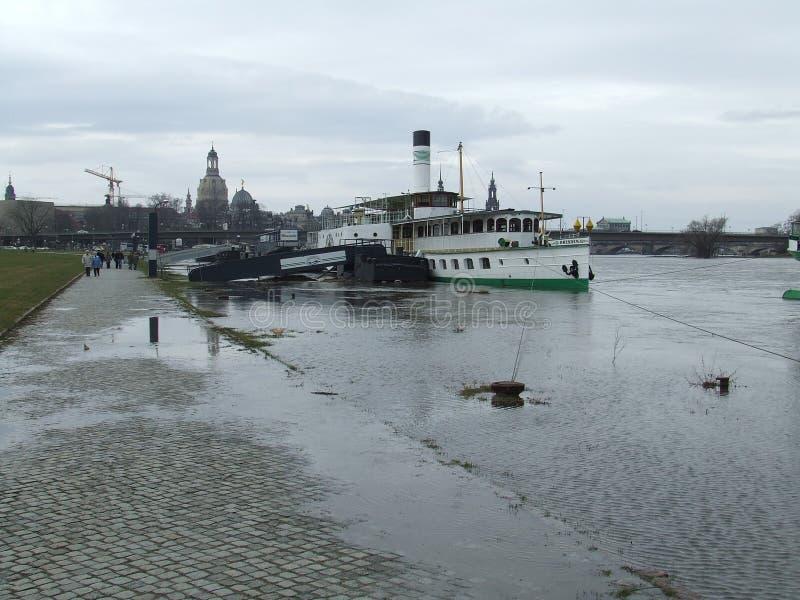 река dresden elbe Германии стоковое фото rf