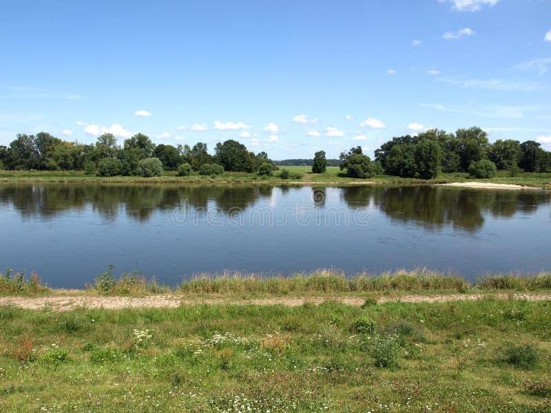 река elbe стоковая фотография