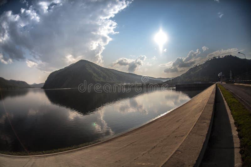Река Enisei стоковые изображения rf