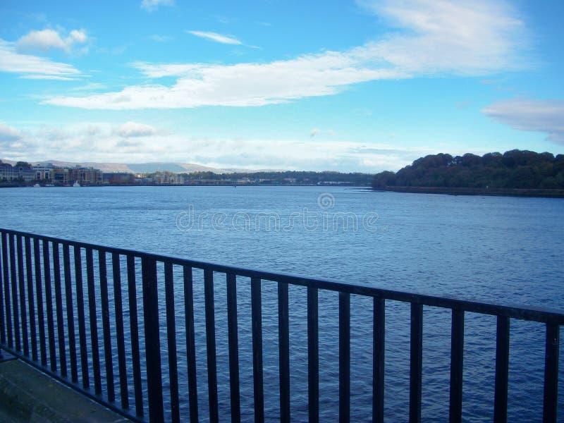 Река Foyle стоковые изображения rf
