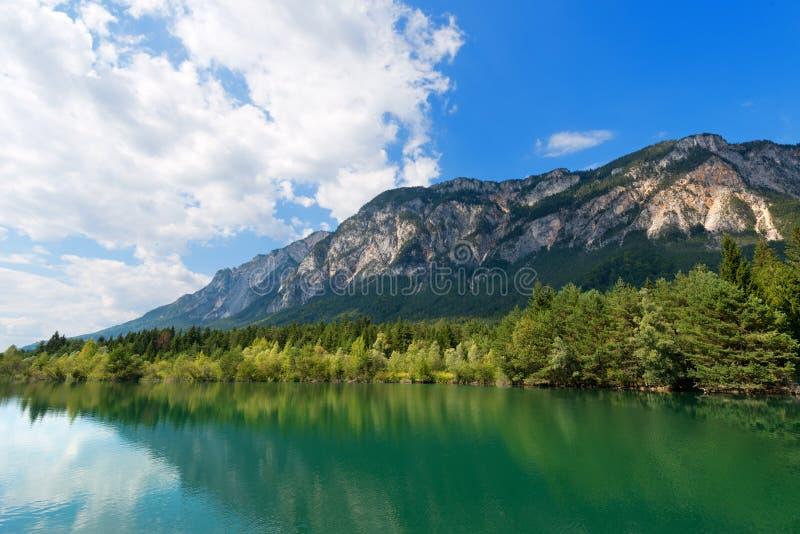 Река Gail - Carinthia Австрия стоковая фотография