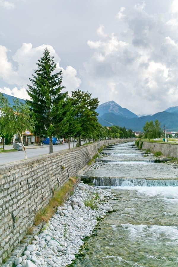 Река Glazne стоковое изображение
