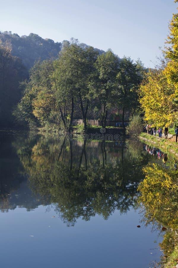 Река Gradac стоковые фотографии rf