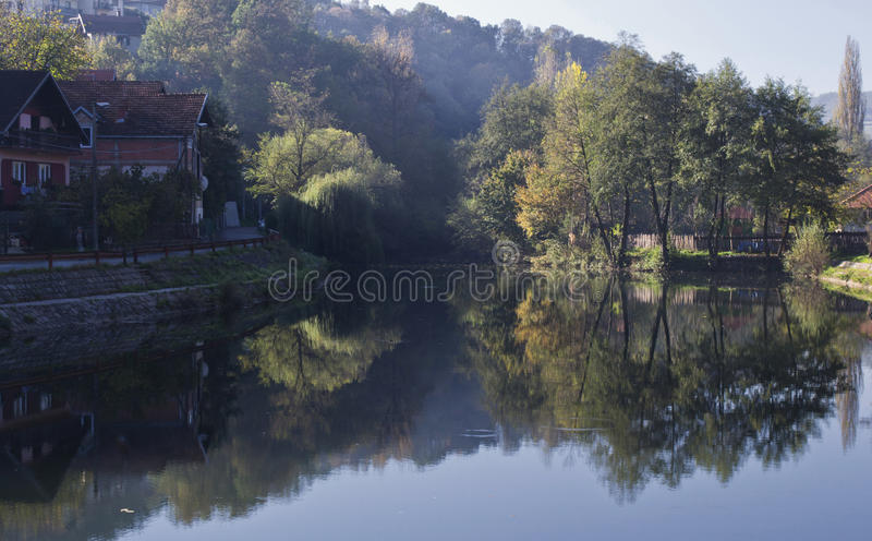 Река Gradac стоковые изображения rf