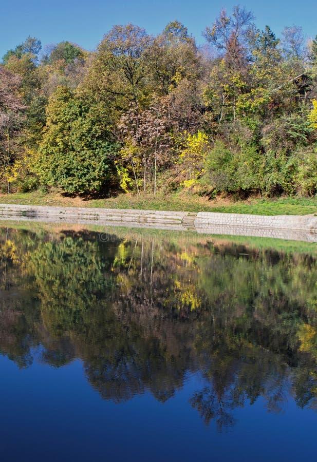 Река Gradac стоковое изображение rf