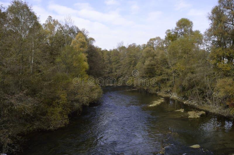 Река Haliacmon стоковые фото