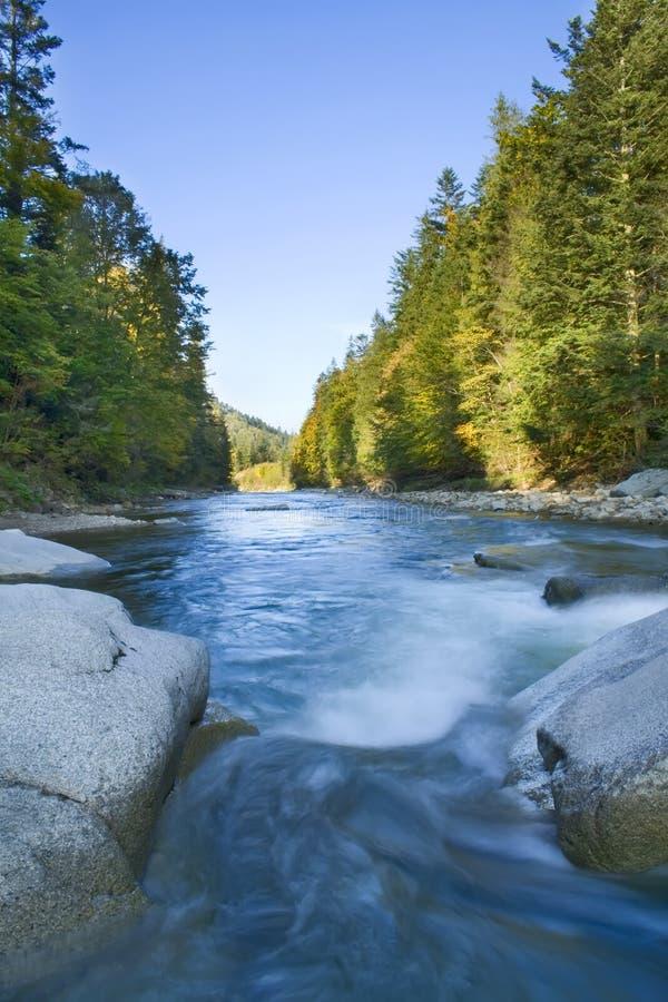 река hdr стоковое изображение rf