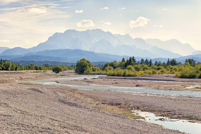 река isar стоковые фото