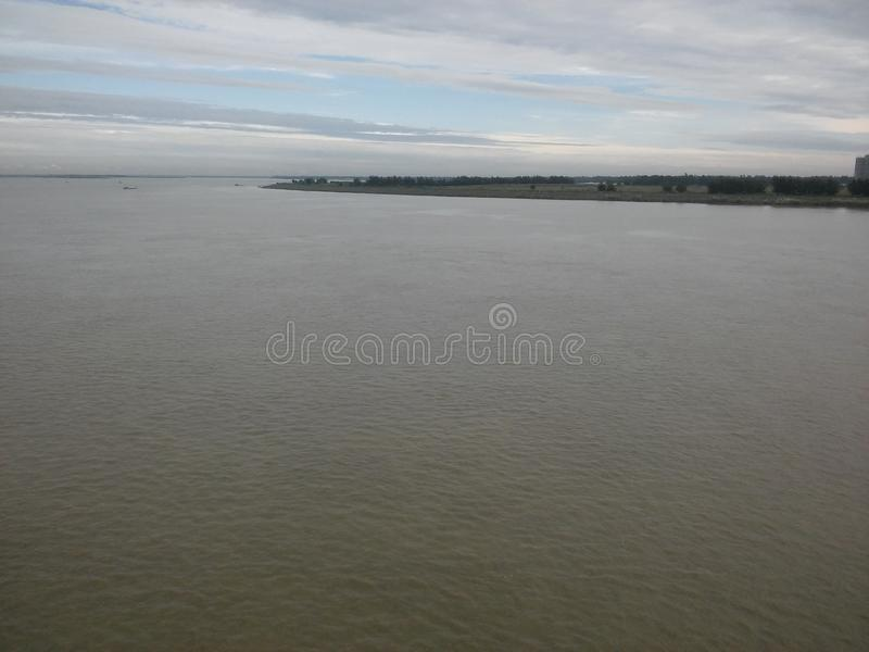река jamuna стоковое фото