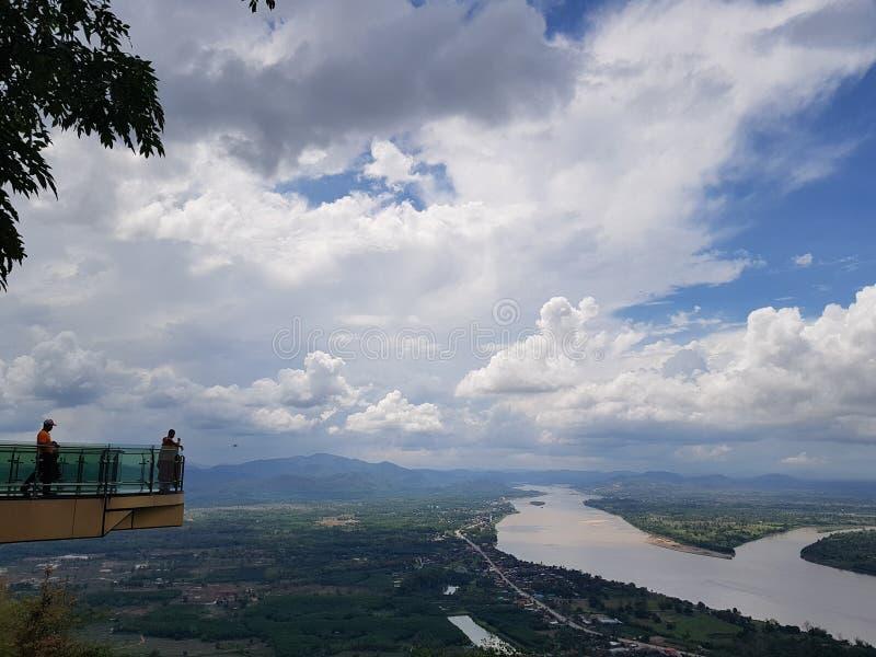 Река Khong стоковое фото