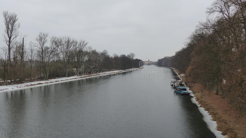 Река Labe стоковое изображение