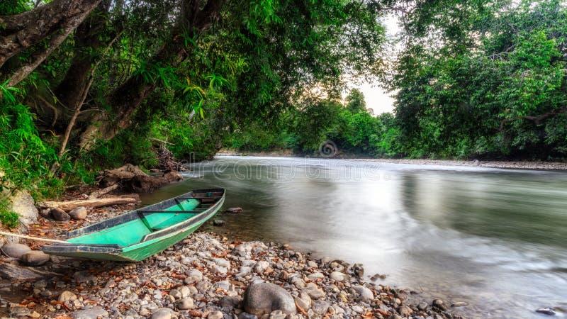 Река Magoh стоковое фото rf