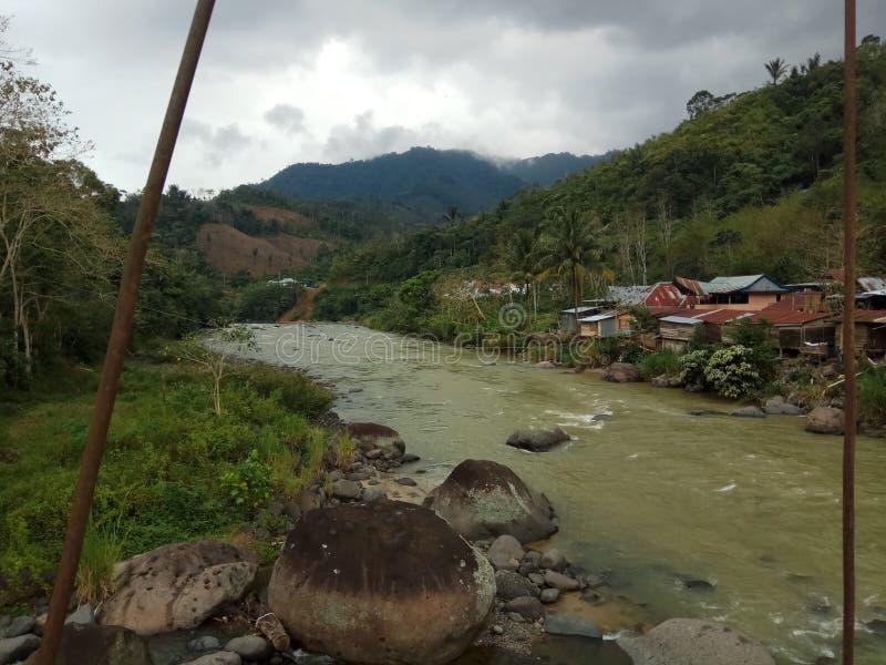 Река Mamasa стоковое изображение rf