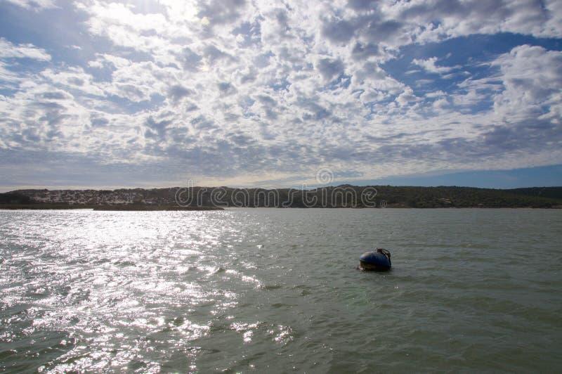 Река Murchison с томбуем стоковое изображение