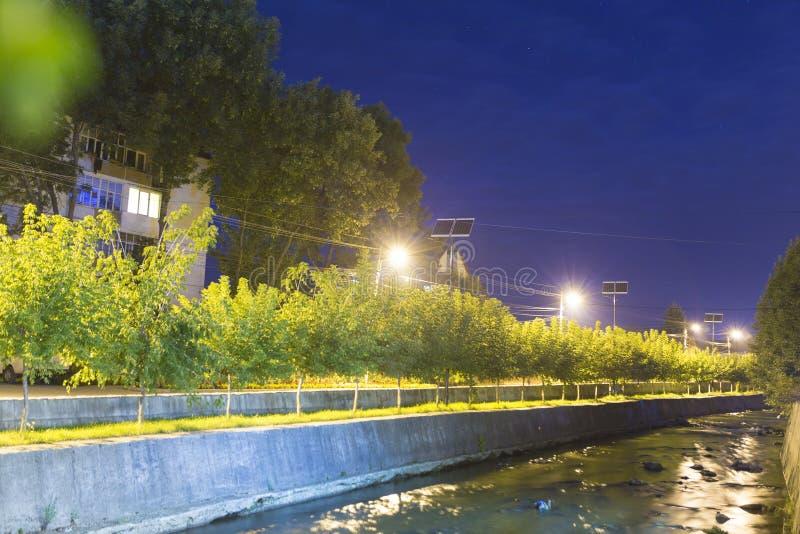 Река Mures в городе Toplita стоковая фотография