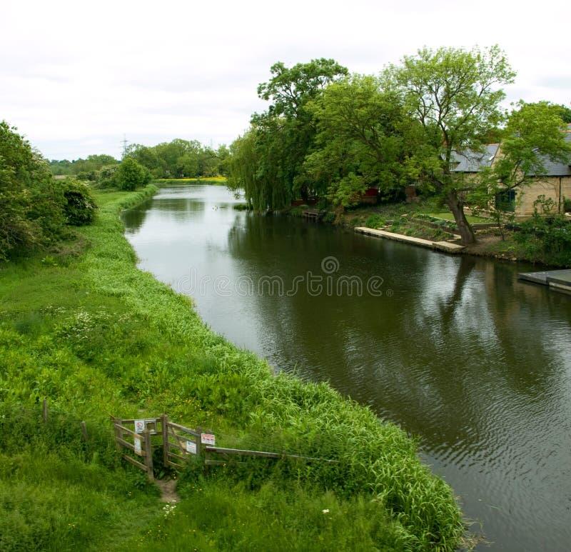 Река Nene стоковые фотографии rf