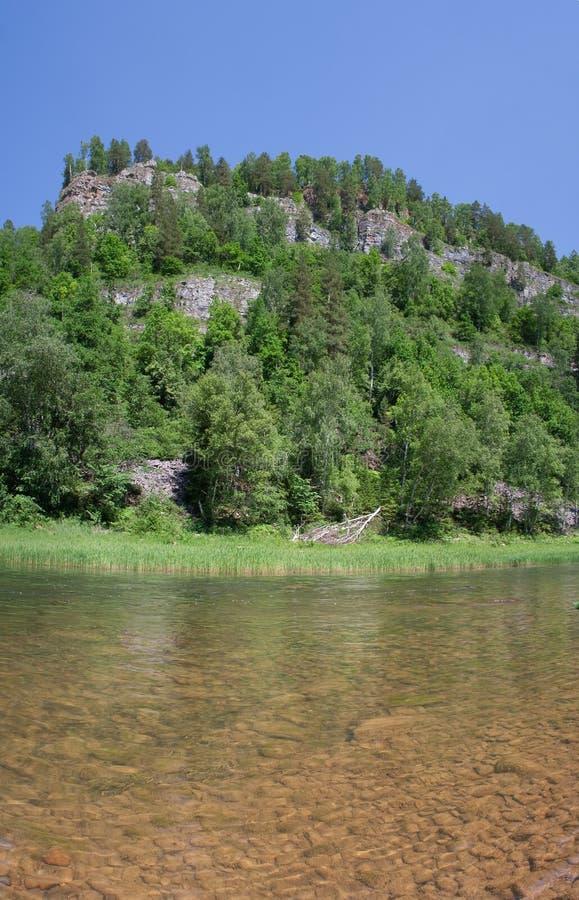 река nugush стоковое фото rf