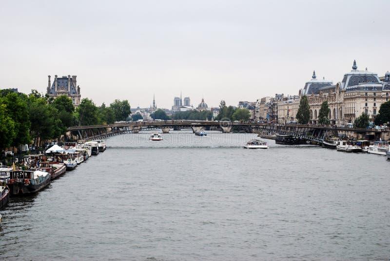 река paris стоковое изображение