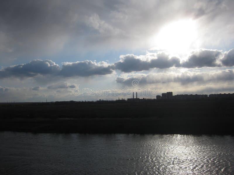 Река Pripyat стоковая фотография
