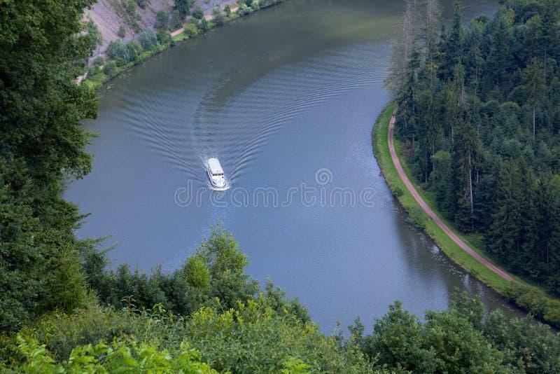 Река Saar стоковое изображение