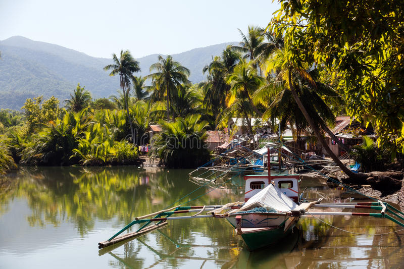 Река Sabang стоковые фото