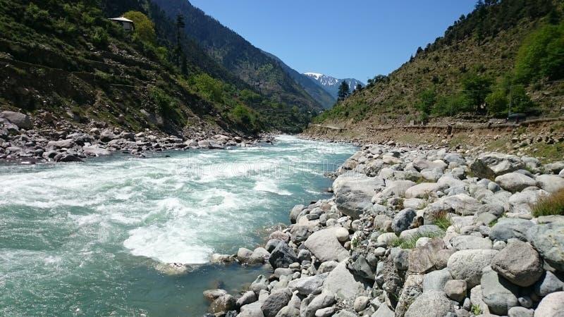 Река Sawat стоковые изображения rf