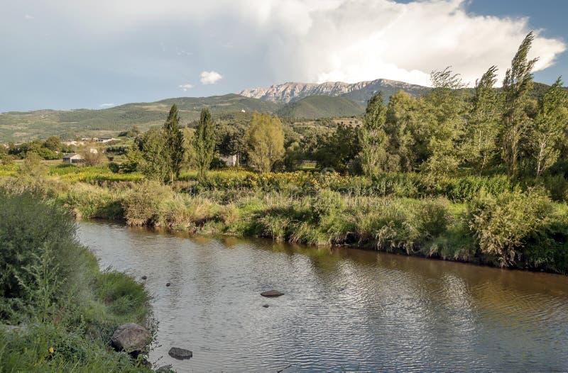 Река Segre стоковые фото