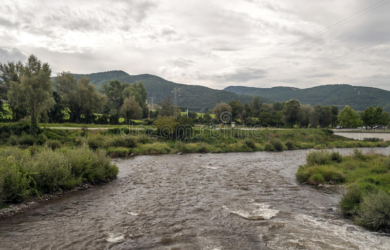 Река Segre стоковые изображения rf
