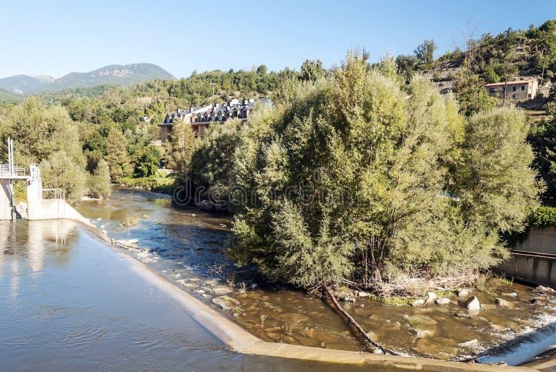 Река Segre стоковые изображения