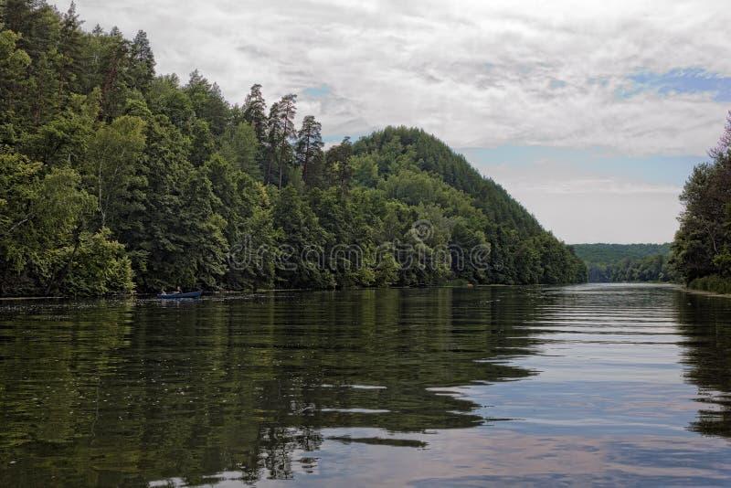 Река Seversky Донца стоковое фото rf